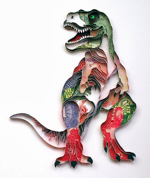 01-Dinosaur-Quilling-Paper-Art-PaperGraphic-www-designstack-co