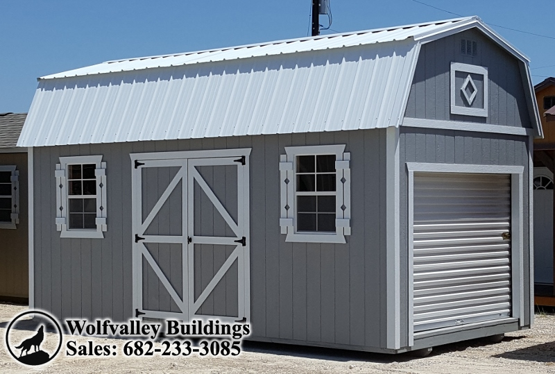 Custom Made Motorcycle Garage Storage Shed 10x20 Portable Building You Can Make This Into That Man Cave Or Work Ve Been Dreaming About
