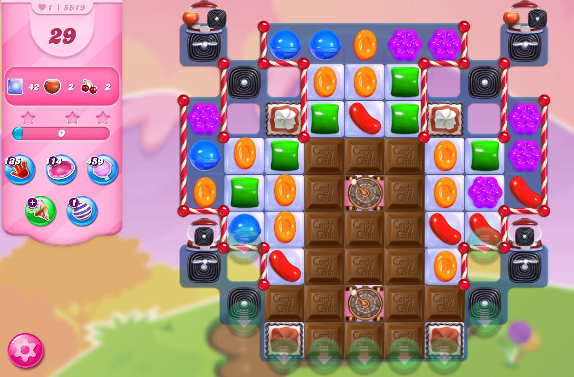 Candy Crush Saga level 5519