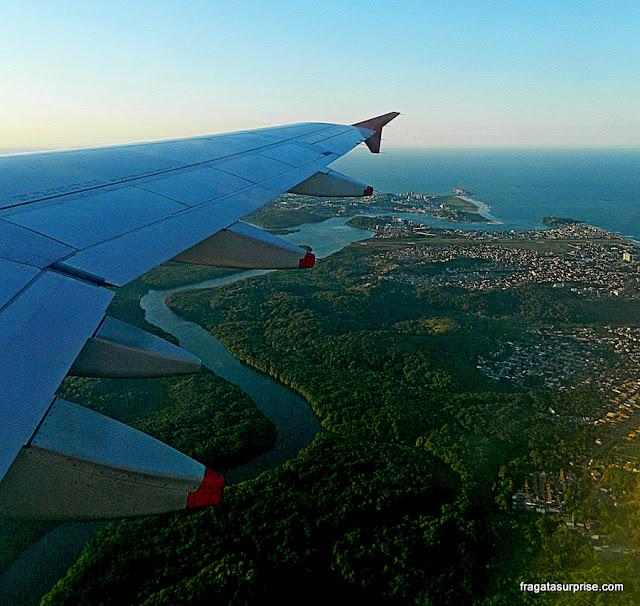 Vista aérea de Ilhéus, Bahia