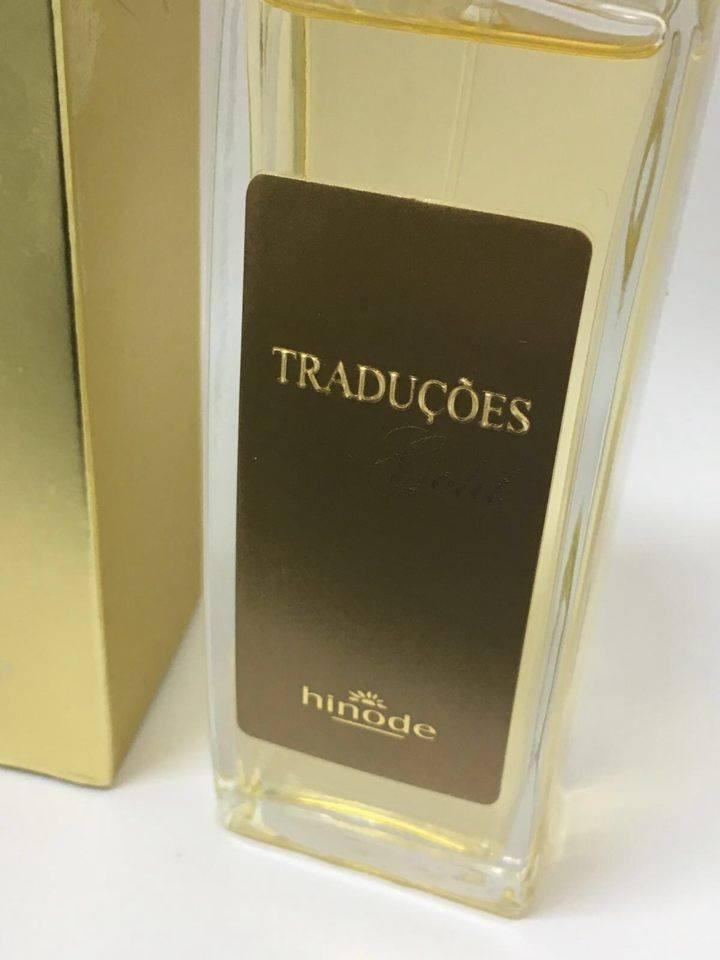 Perfume Hinode Traduções Gold nº 63 212 vip feminino