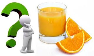 Jugo naranja salud nutrición
