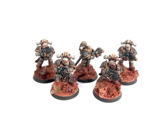 Death Guard Legion Veterans