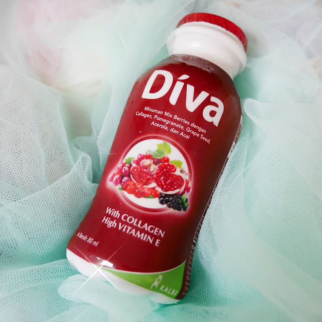 Botol kemasan DIVA Beauty Drink