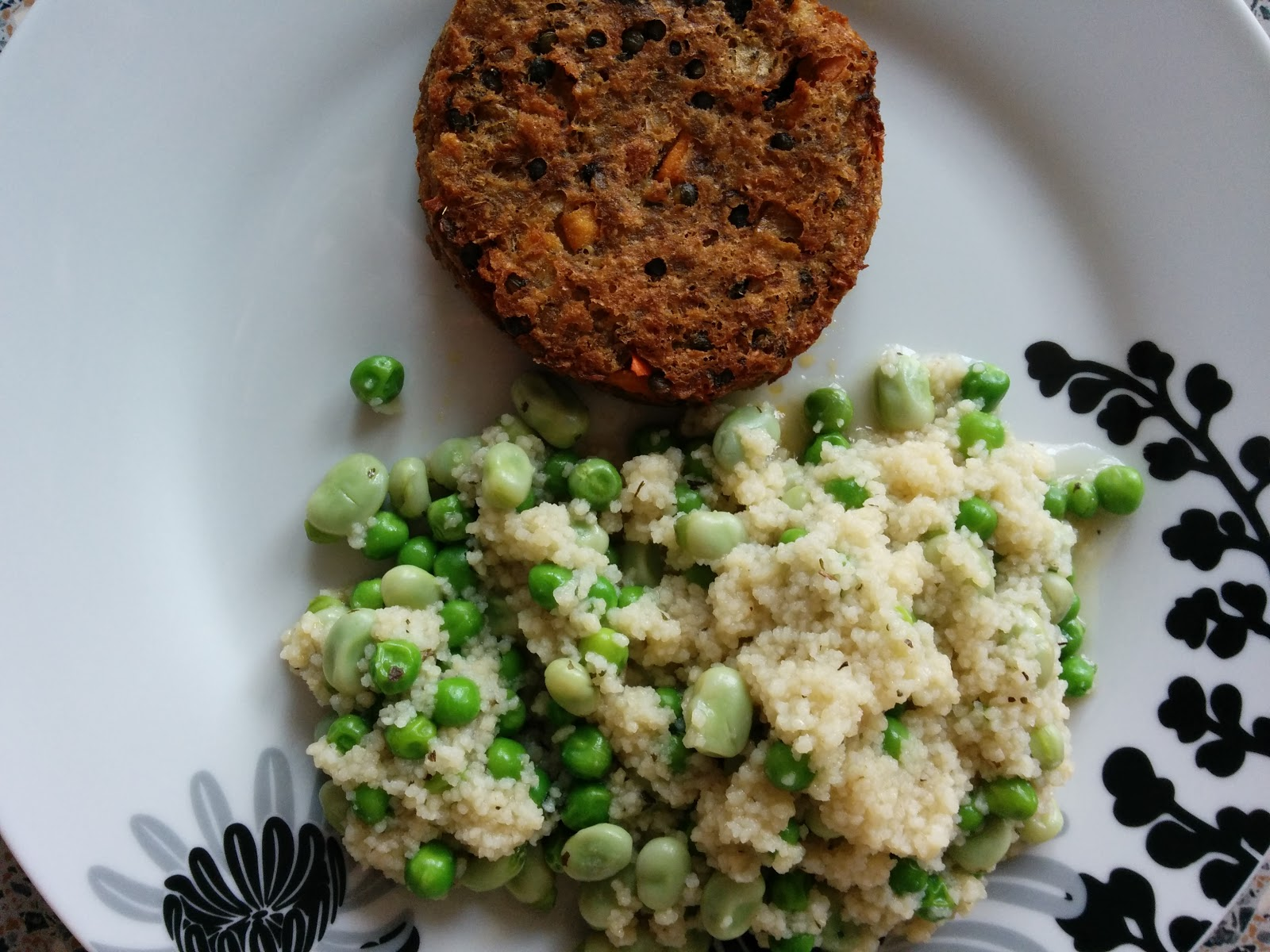 The Excited Eater: Waitrose Aubergine and Feta Burgers