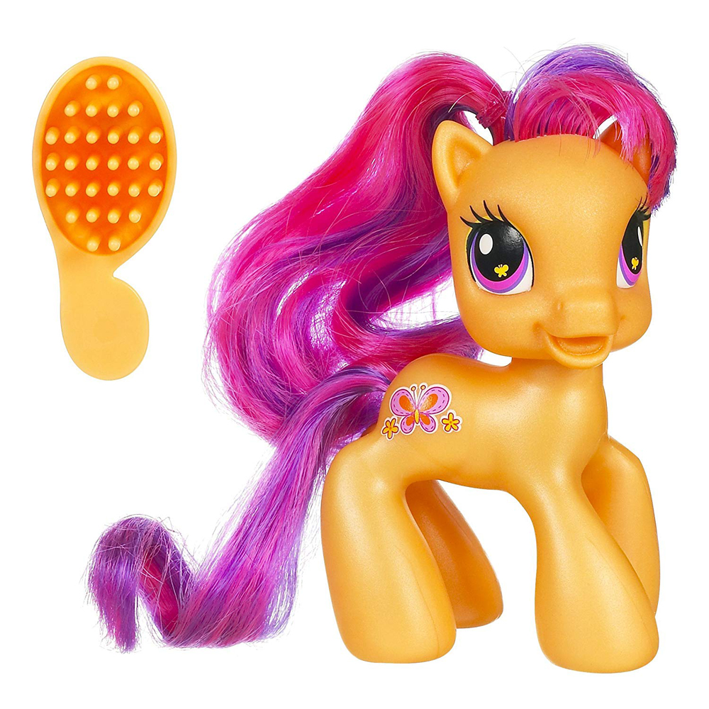 My Little Pony Scootaloo Core 7 Singles G3 5 Pony Mlp Merch Here on this page you'll find an overview of all mlp scootaloo g3 ponies, with a total of 14 releases. little pony scootaloo core 7 singles g3