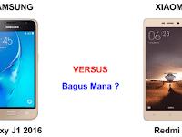 Samsung Galaxy J1 (2016) VS Xiaomi redmi 3