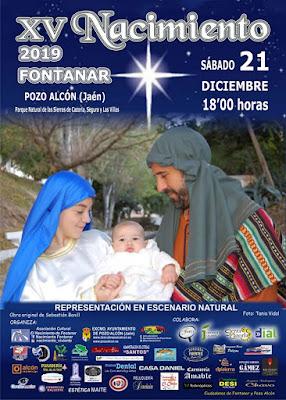 Pozo Alcón - Belén Viviente Fontanar 2019