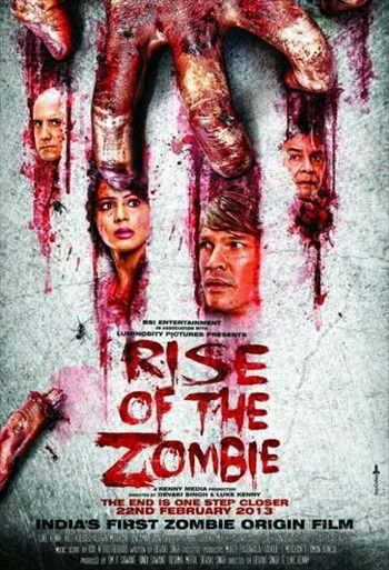 Rise Of The Zombie 2013 Hindi Dubbed 720p HDRip 950mb