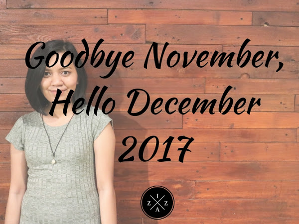 Goodbye November, Hello December 2017