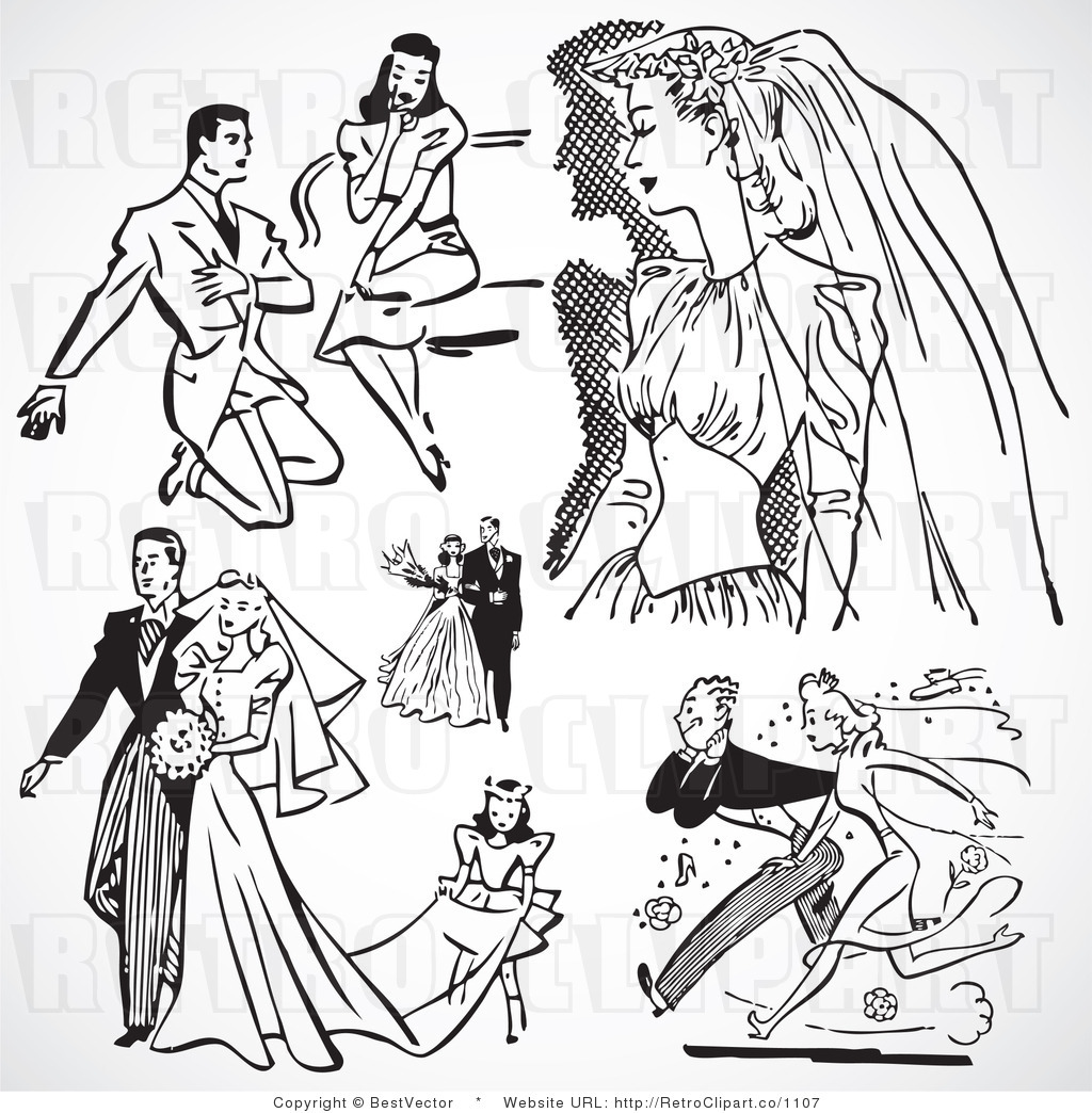 How To Acquisition Hundreds Of Admirable Wedding Clipart