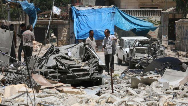 Sesama Syiah Bentrok di Utara Aleppo, Hizbullat VS Tentara Assad