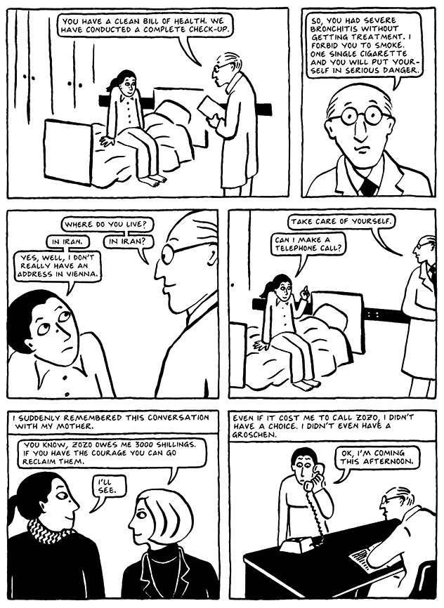 Read Chapter 9 - The Veil, page 88, from Marjane Satrapi's Persepolis 2 - The Story of a Return
