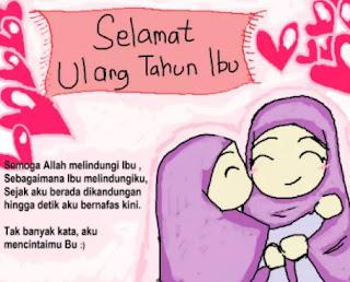 Kata Kata Ucapan Selamat Ulang Tahun Untuk Ibu/Mama Tercinta