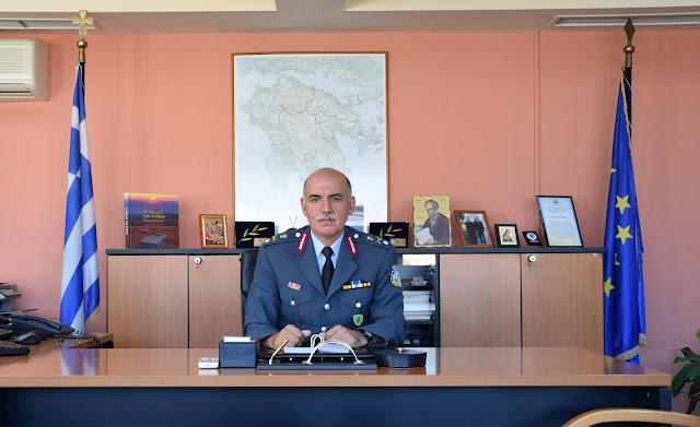 Ανέλαβε καθήκοντα ο νέος Γενικός Περιφερειακός Αστυνομικός Διευθυντής Πελοποννήσου Π. Πούπουζας