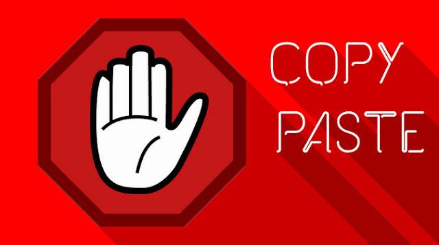 Bahaya Copy Paste Artikel Bagi Blogger dan Blognya
