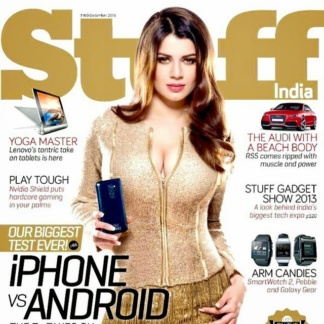 kainaa arora cover girl for stuff india magazine december edition 2014.  stuff , magazine , stuff ,india indian magazines , gadgets , iphone ,  rep ost ,@ikainaatarora fashion photography , cover girl , cover page , insta bollywood , kainaat arora ,, Most Popular Photos Of This Week