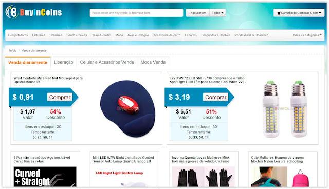 Site Chinês com Preços de Atacado - Buyincoins.com