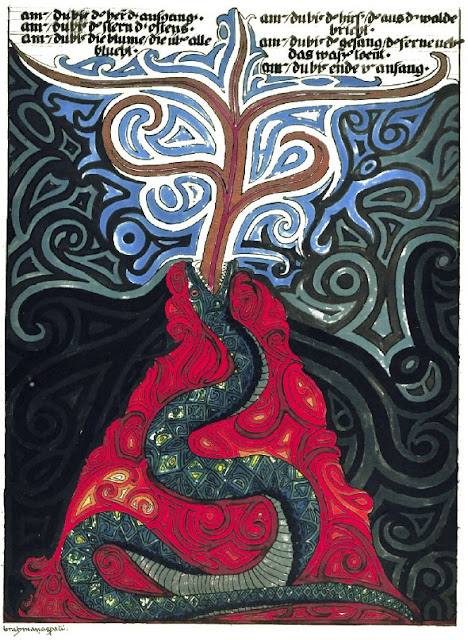 jung artwork from the red book