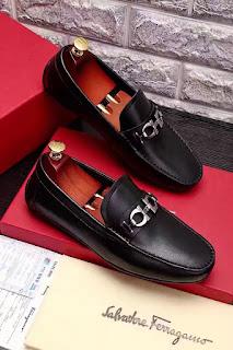 giày lười giày da nam Salvatore Ferragamo