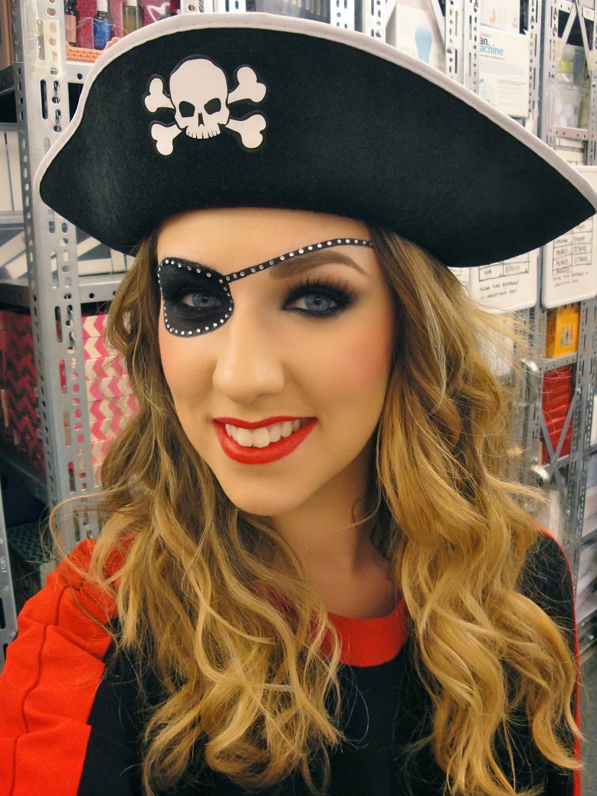 gloss ary a beauty blog pirate costume. Black Bedroom Furniture Sets. Home Design Ideas