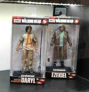 Toy Fair 2018 McFarlane Walking Dead Savior Prisoner Daryl Ezekiel Action Figures 01