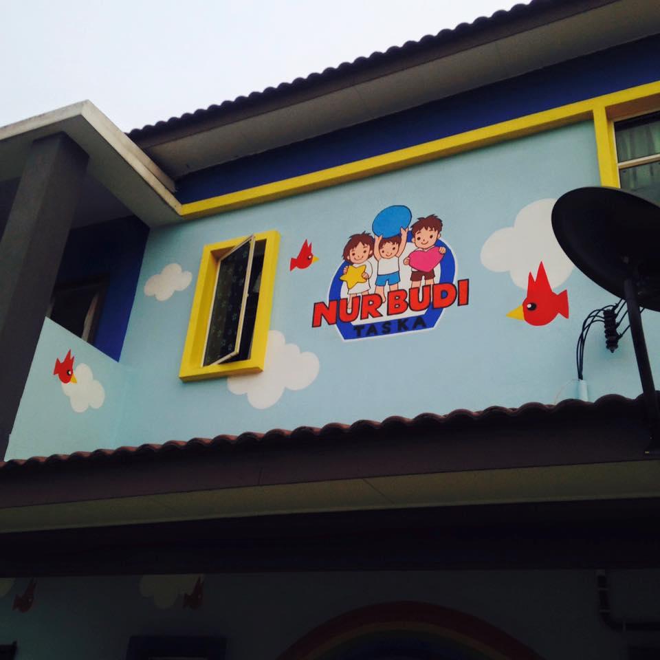 Warna arts mural taska nur budi for Mural untuk taska