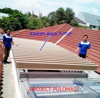 Proyek Kanopi otomatis SDIT ASA Djakarta Truss