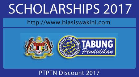 PTPTN Discount 2017