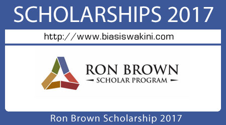 Ron Brown Scholarship 2017