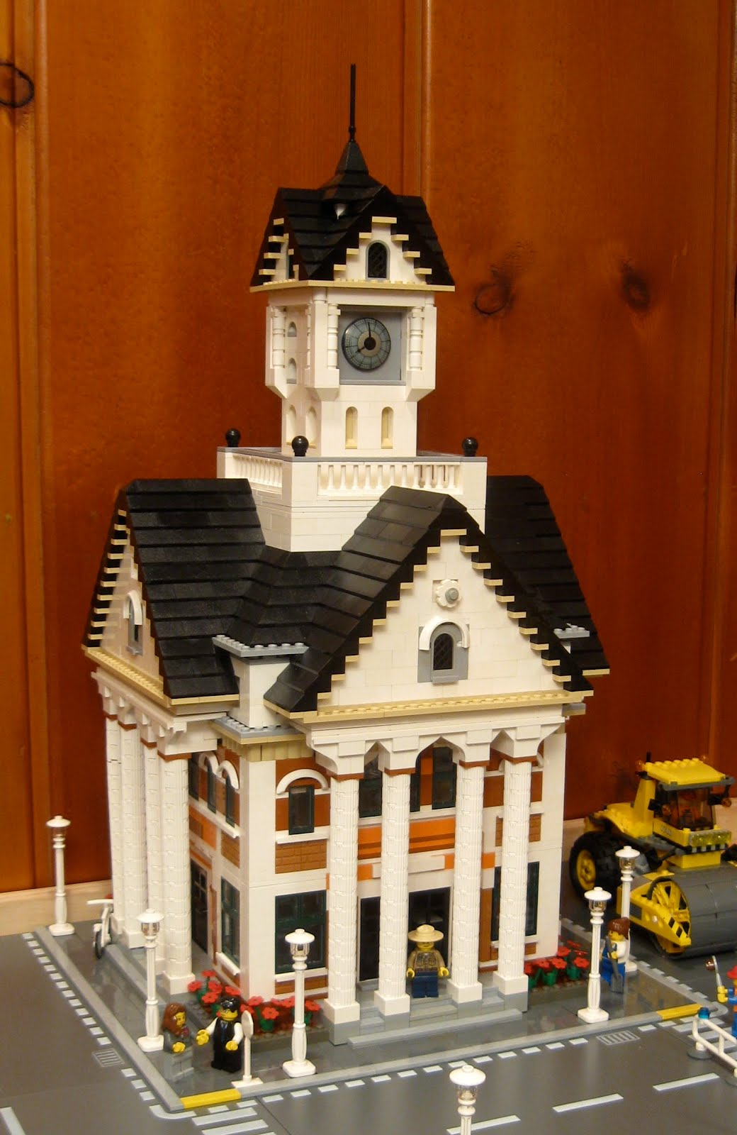 Randuwa Where Does Our Food Come From: Randuwa: Erection Of A Lego Courthouse