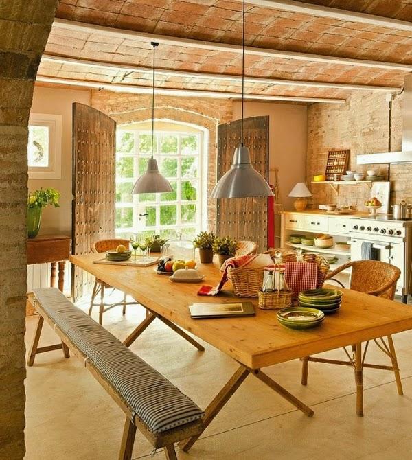 C mo decorar una cocina r stica colores en casa - Como decorar una cocina rustica ...