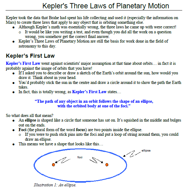 Kepler law for Planetary motion,kepler first law,
