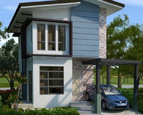 desain rumah minimalis 2 lantai type 36/72 - Gambar Rumah Idaman