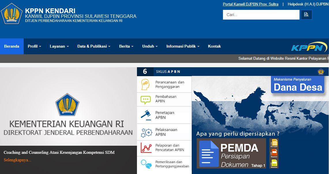 Alamat Kantor Dan Nomor Telepon Kantor KPPN Di Sulawesi Tenggara