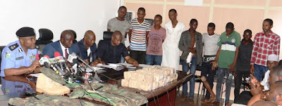 NINE KIDNAPERS OF CBN GOVERNOR'S WIFE ARRESTED AND LOOT RECOVERED