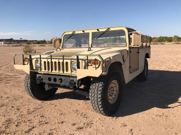 The Ultimate 4x4 Truck, 1988 Humvee 30610 Miles