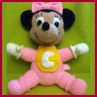 Bebé Minnie amigurumi