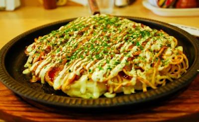 martabak Jepang Okonomiyaki