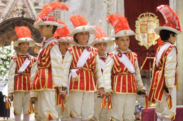 Seises en Sevilla