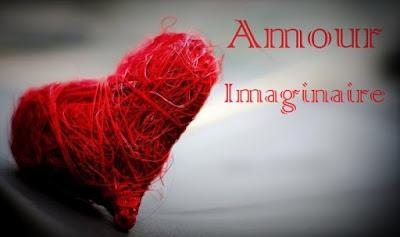 Cœur rouge d'un amour imaginaire