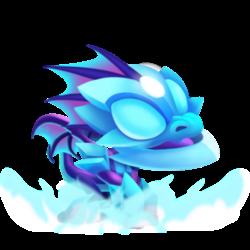 Dragão Névoa (Bebê)