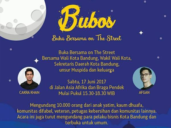 Buka Bersama On The Street Bandung 2017