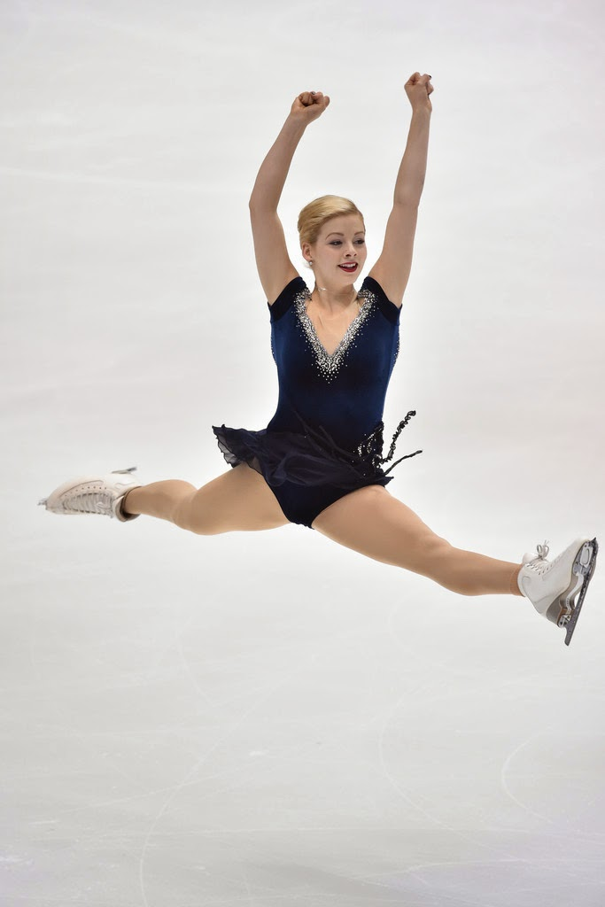 ICE STYLE.....2014 NHK Trophy Figure Skating Costumes ...Gracie Gold Dress