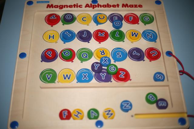 Magnetic Alphabet Maze From Lakeshore Learning Skinny Latte Mommy