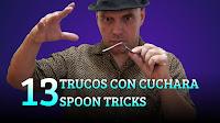 13 Trucos y experimentos con cuchara, MAGIA-CIENCIA