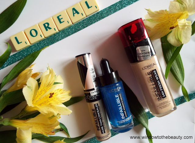 L'Oreal new Infallible line compare to true match