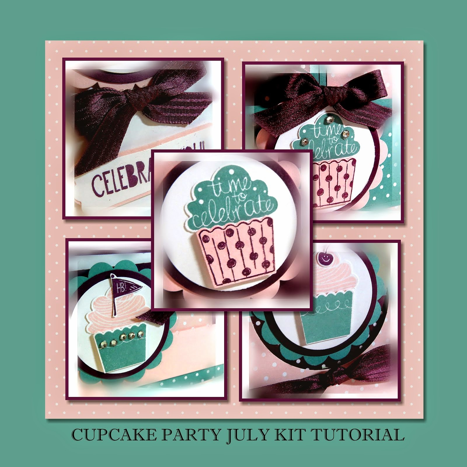 Cupcake Party July 2014 Tutorial