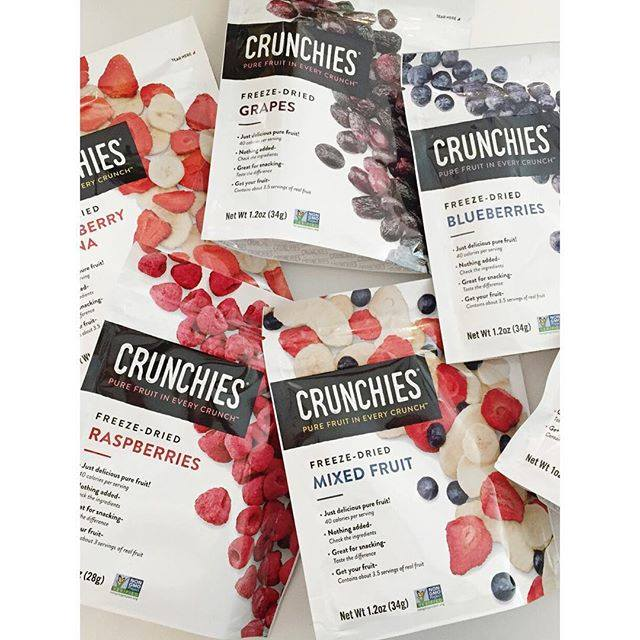 Fitness For The Rest of Us Crunchies Freeze Dried Fruit