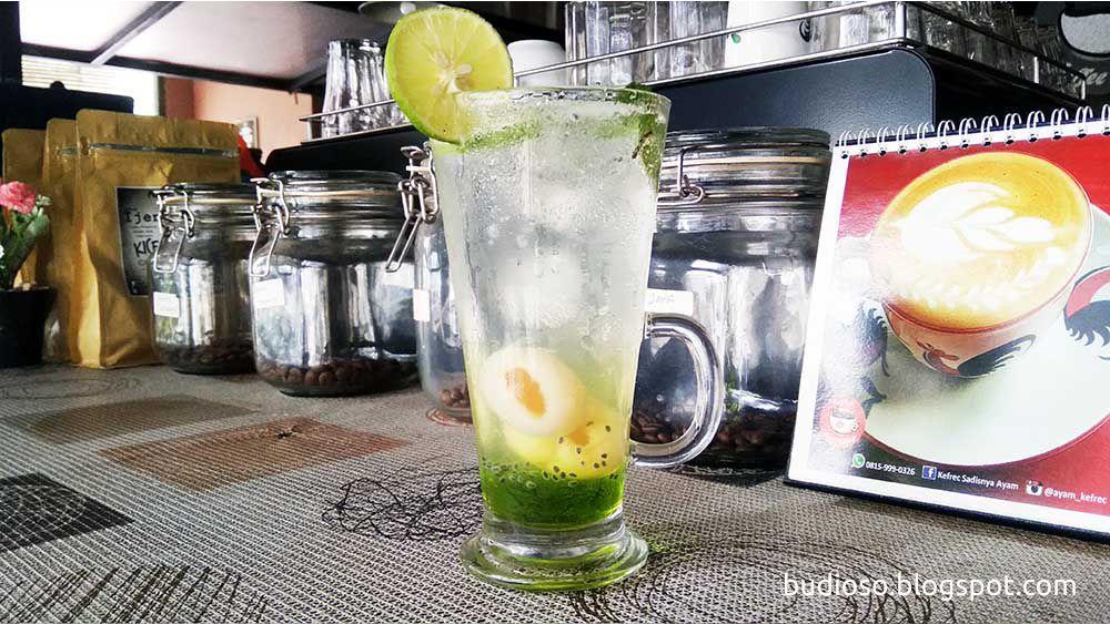 Minuman enak di Depok KeFrec Coffee Shop - Ayam KeFrec